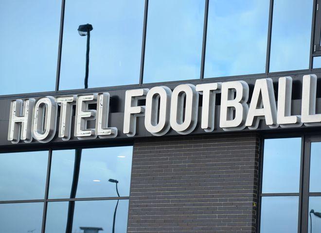 Самый футбольный отель в мире