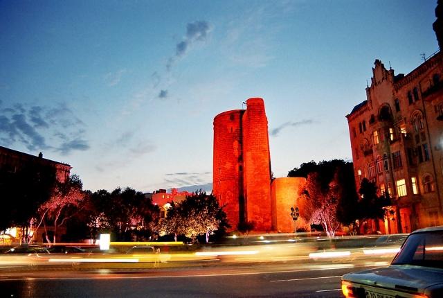 Великий шелковый путь: Баку, Азербайджан