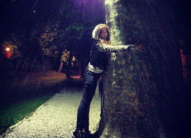 Анна Седокова в Италии