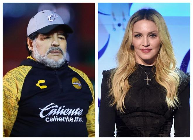 Диего Марадона и Мадонна