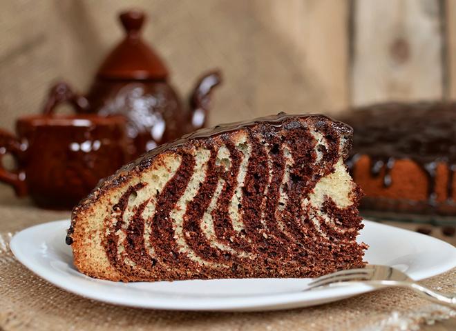 торт зебра рецепт.с фото
