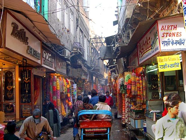 Индийские базары: Чандни Чоук, Дели