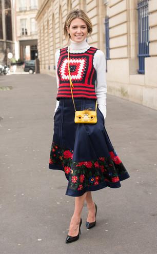 Міді-спідниця: 17 яскравих образів від fashion-блогерів