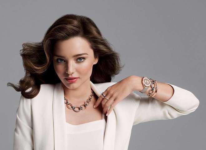 Миранда Керр в рекламной кампании Сваровски