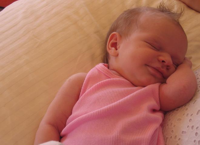 У здорового ребенка - здоровый сон