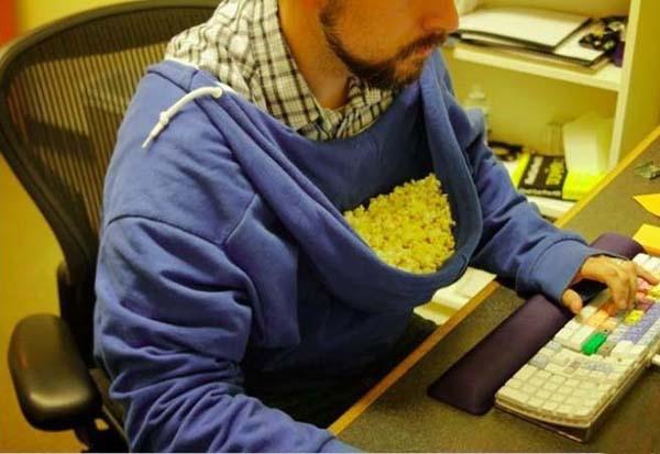 Попкорн всегда под рукой