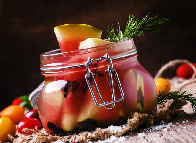 Квашеные арбузы