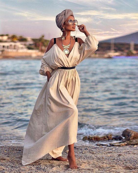 Модные пляжные наряды 2021
