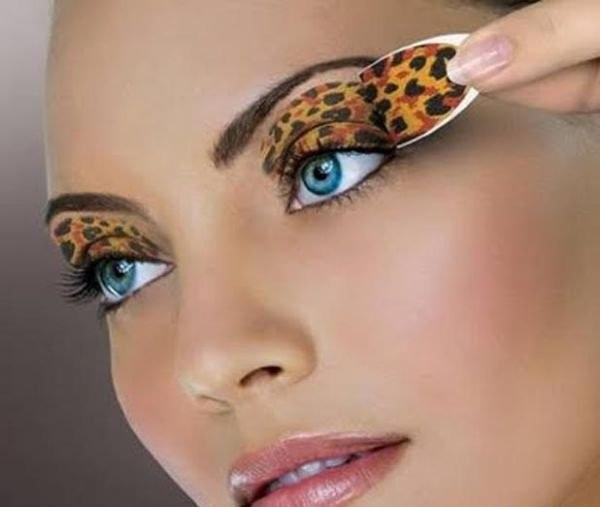 Топ необычных макияжей