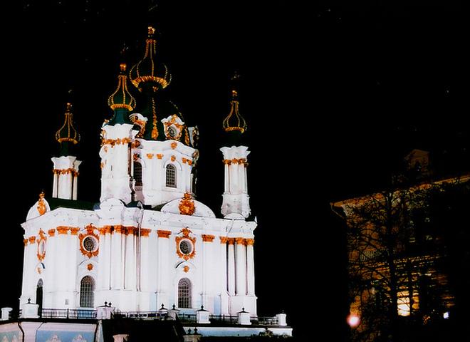 Киев вечерний: шарм и очарование ночной столицы