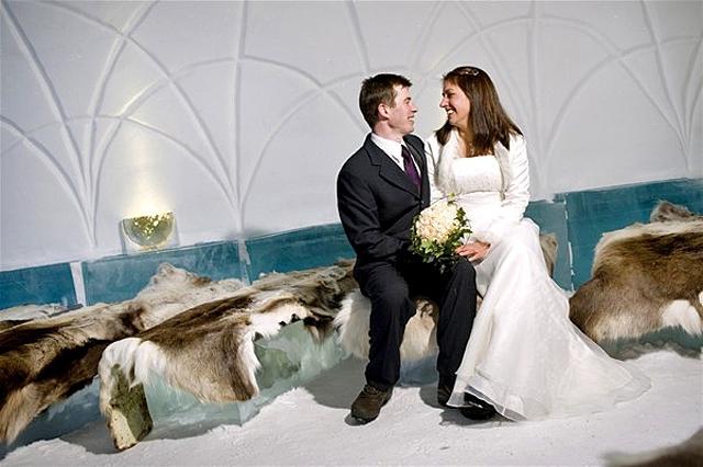 Незвичайні весільні церемонії: Швеція