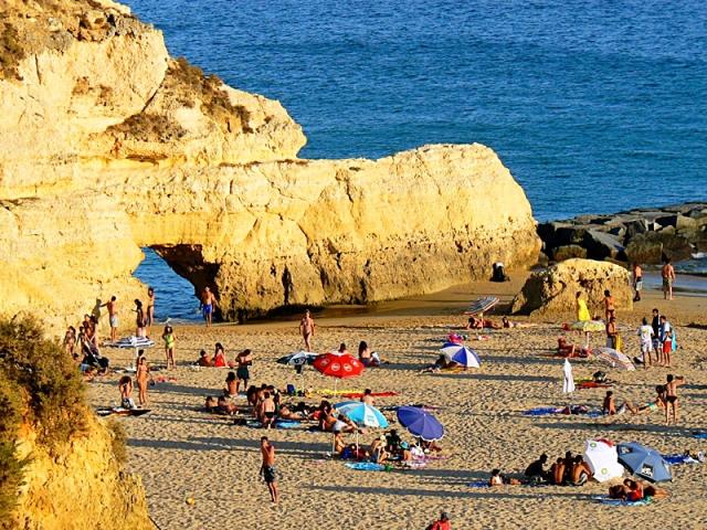 Пляжі Алгарве: Praia Da Rocha