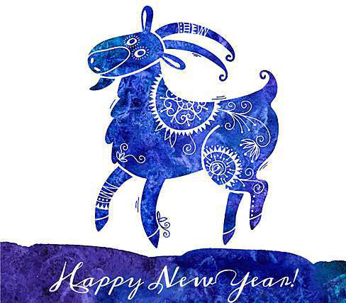 Милая синяя овечка 2015