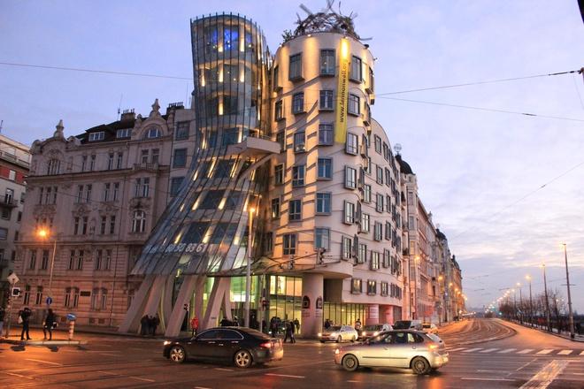 Путешествие по Праге на автомобиле