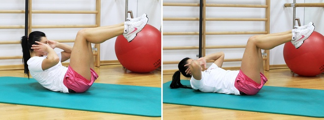 Крупные группы мышц