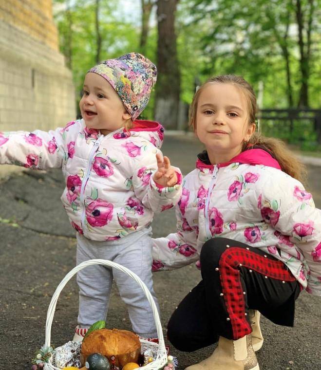 Дочки Лілії Ребрик - Діана та Поліна