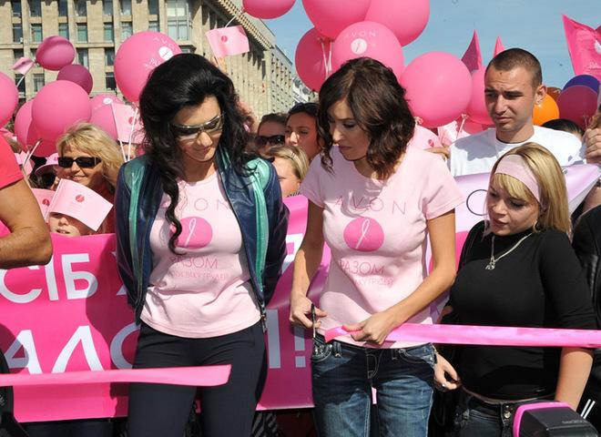 Разом проти раку грудей
