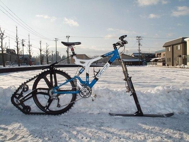 Велосипед. Зимний вариант.