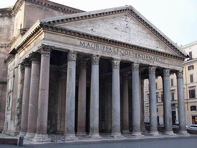 Цікаві місця Риму: Римський Пантіон
