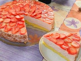 Клубничный торт.