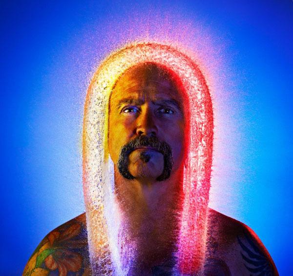 Необычные фото от Тима Тэддера. Парики из воды