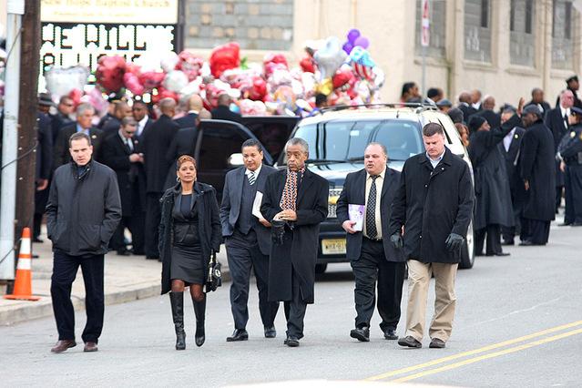 Похороны Уитни Хьюстон