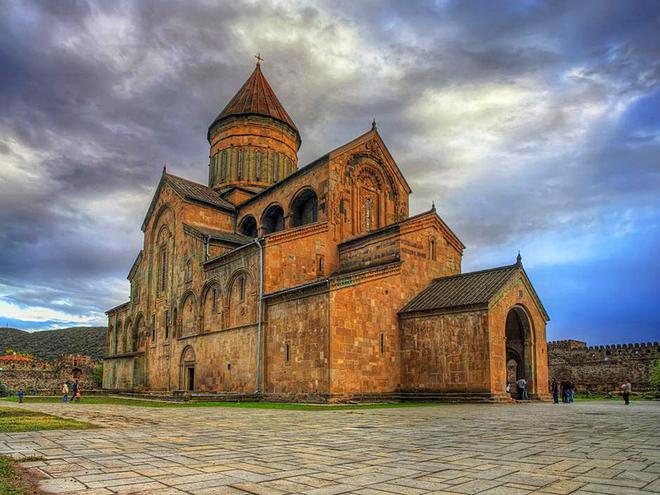 30 фактов о Грузии: Храм Светицховели