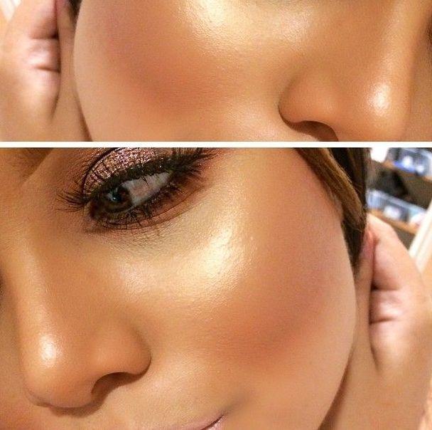 Идеальный макияж: 3 способа наносить хайлайтер