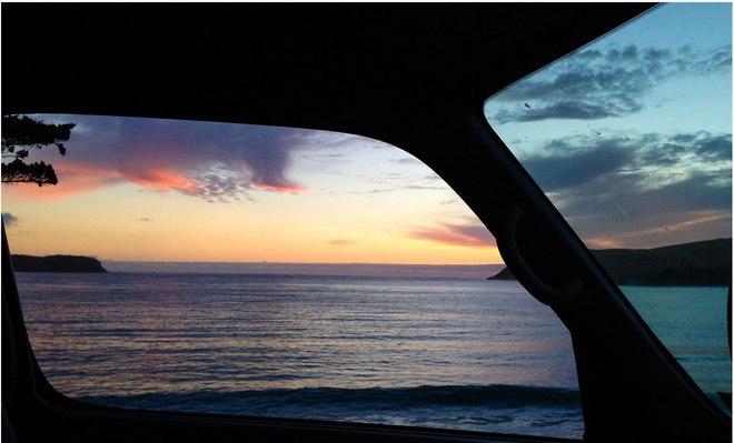 Удивительные пейзажи Новой Зеландии из окна фургона