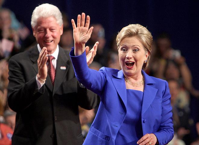 Білл і Хілларі Клінтон