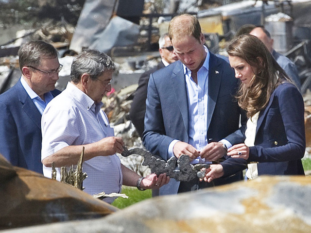 The Duke And Duchess Of Cambridge Canadian Tour