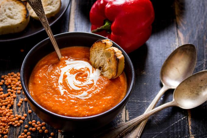 суп зі сочевицею