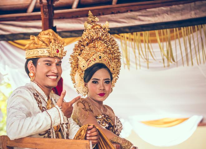 Традиционная свадьба на Бали