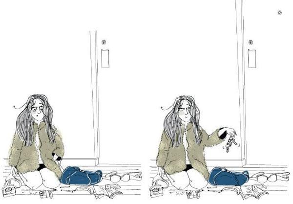 Жизненный комикс про девушек