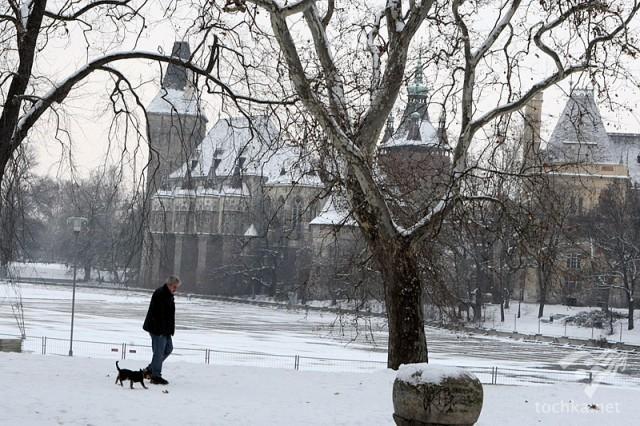 Будапешт: нічна прогулянка взимку