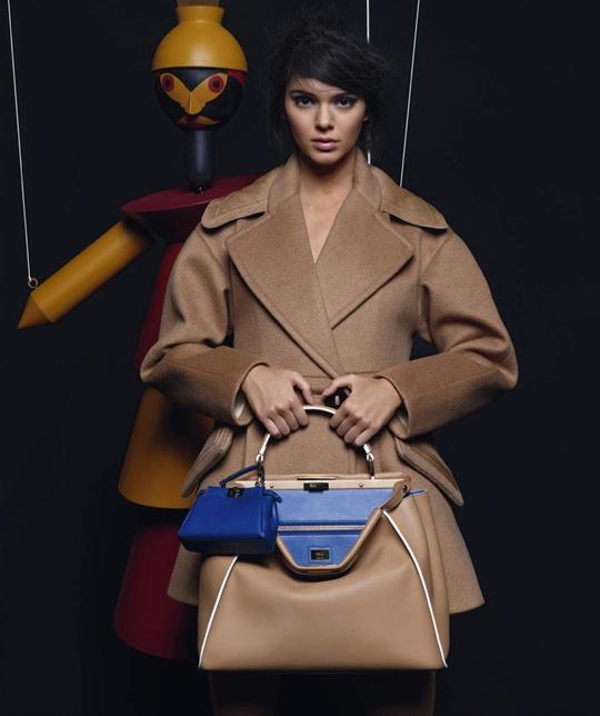 Кендалл Дженнер в рекламній кампанії Fendi: перший погляд