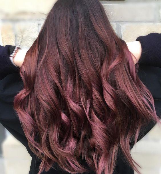 Рожевий шатен
