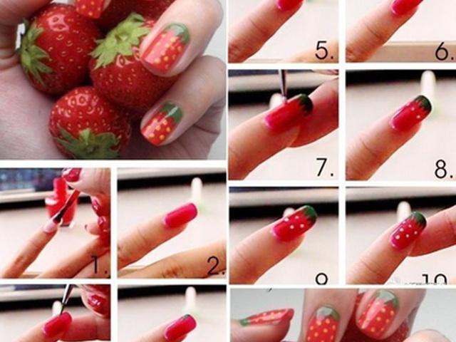 Как украсить ногти в домашних условиях своими руками 5