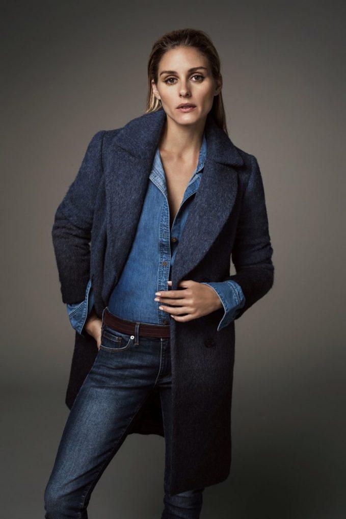 Как одеться зимой: 5 стильных луков Оливии Палермо