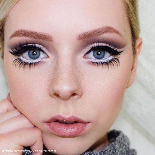 Простой макияж на Хэллоуин