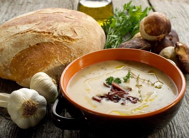 Как приготовить гречневый суп, Постные блюда из грибов