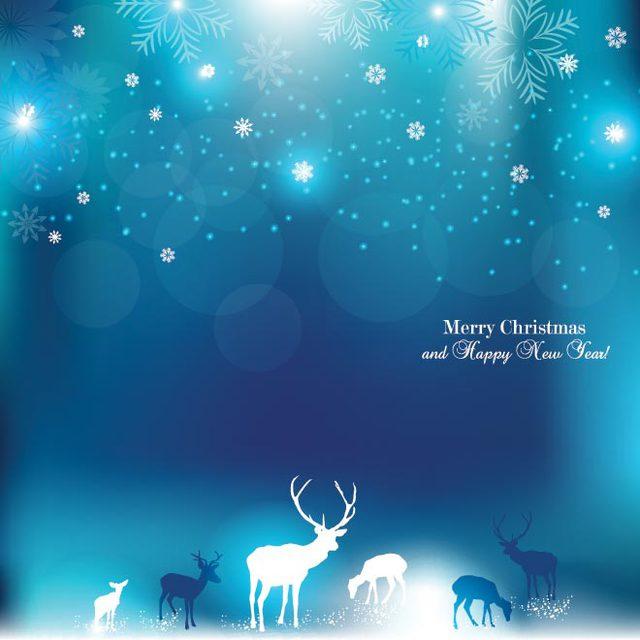 Нежная открытка на Рождество