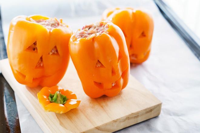 Блюда на Хэллоуин фото