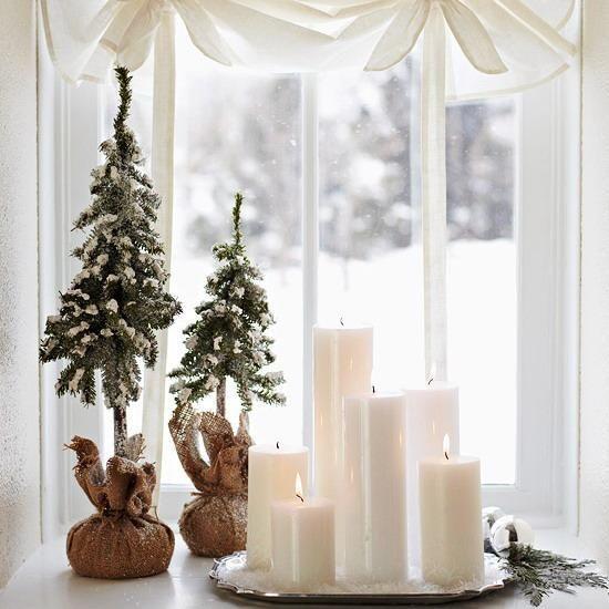 Новорічний декор вікон