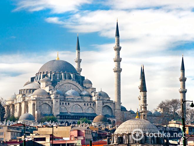 10 будівель, які обов'язково варто побачити в житті. Süleymaniye Mosque