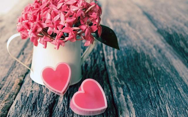 Романтические обои на рабочий стол День Святого Валентина 2015