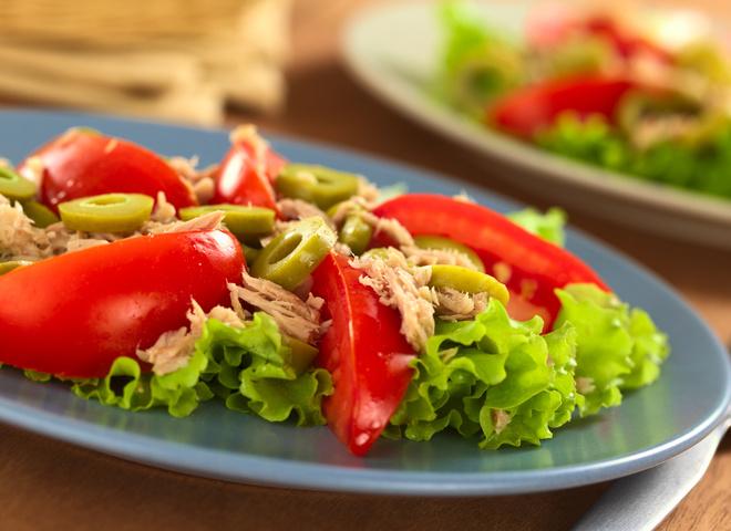 Салат на 8 Марта, Салаты без майонеза, Летние салаты: рецепты