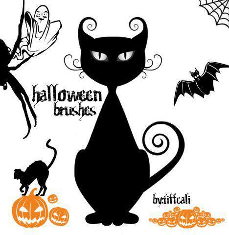 Прикольная открытка к Хэллоуину
