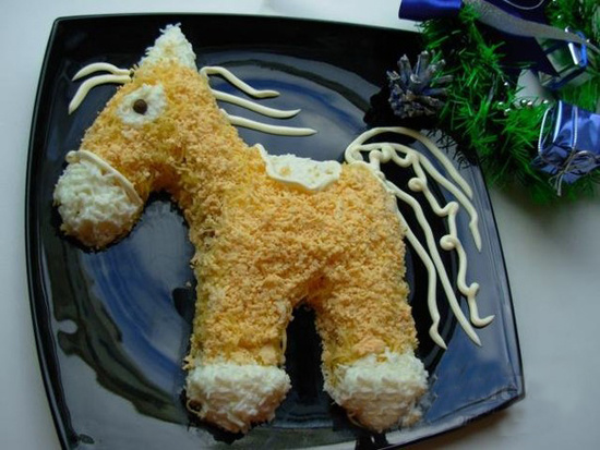 торт лошадь рецепт с фото