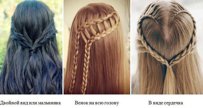 10 способов заплести косу на волосах любой длины